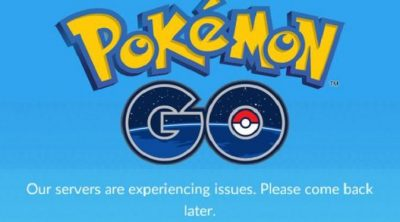 Pokemon Go Server Down 400x222 Pokemon Go Server Down Jutaan Pengguna Stress Dibuatnya