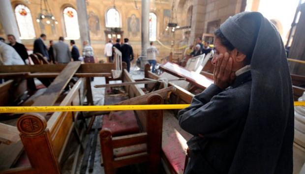 25 Orang Tewas Akibat Bom Gereja di Mesir