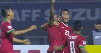 Hasil Score Akhir Indonesia vs Thailand, Bekuk Tim Tamu 2-1 Timnas Sukses Maksimalkan Leg I