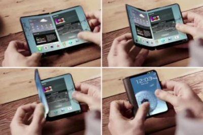 Samsung Bakal Luncurkan 2 Versi Smartphone Dual-Screen (Layar Lipat)