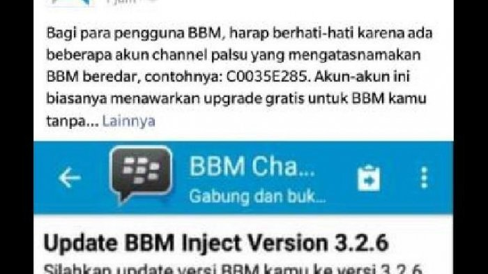 Ternyata, Ajakan Saluran BBM Bukan Ulah Hacker Tapi Usaha Untuk Cari Ini