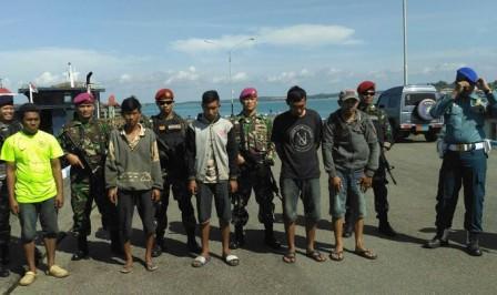 Hari Ini TNI AL Gagalkan Penyelundupan Solar di Kepulauan Riau