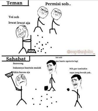 Persahabatan13 chirpstorynet Meme Sahabat Paling Lucu dan Gokil, Ketawa Sendiri Boleh Kok