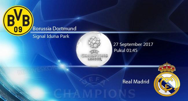 Prediksi Dortmund vs Real Madrid Jadwal Jam Tayang Liga Champions