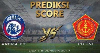 Prediksi Arema vs PS TNI, Jam Tayang Gojek 14/10/2017