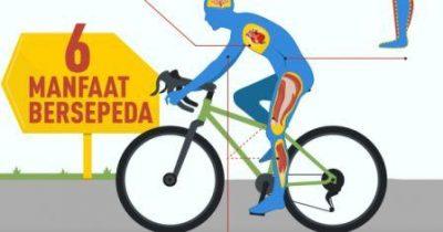 8 Manfaat Bersepeda Untuk Stamina Dan Kesehatan Badan