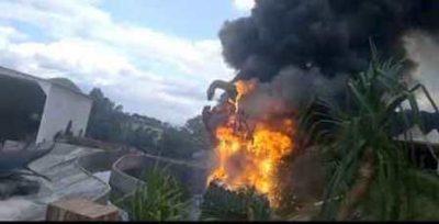 Diprotes Soal Tanah, Patung Dinosaurus Jatim Park 3 Mendadak Terbakar