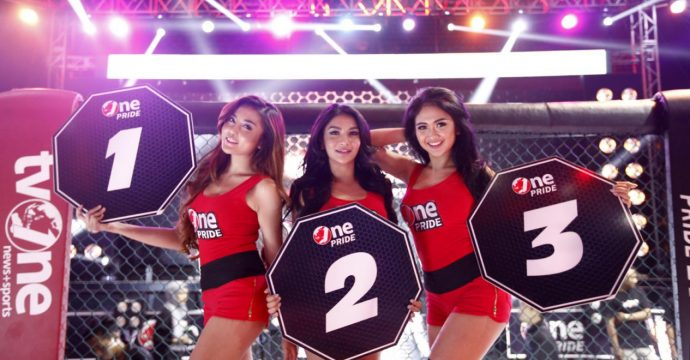 3 Bidadari Cantik MMA Siva Aprilia, Thya Sethya, dan Lavenia Oviola