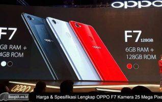 Resmi diluncurkan Ini Harga dan Spesifikasi OPPO F7