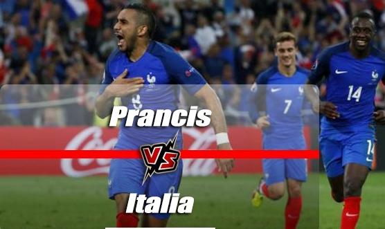 Prediksi Prancis vs Italia