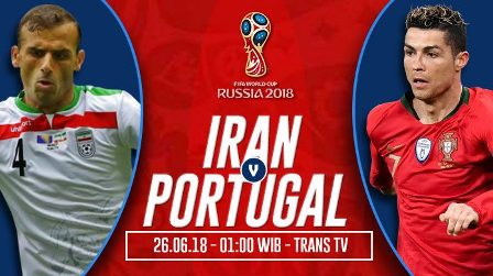 Nonton Iran vs Portugal > Trans TV Live Streaming