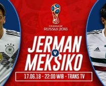 Nonton Jerman vs Meksiko, Link Live Streaming Trans TV