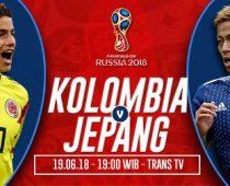 Nonton Kolombia vs Jepang, Link Live Streaming Trans TV