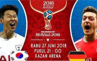 Nonton Korea Selatan vs Jerman, Trans TV Live Streaming