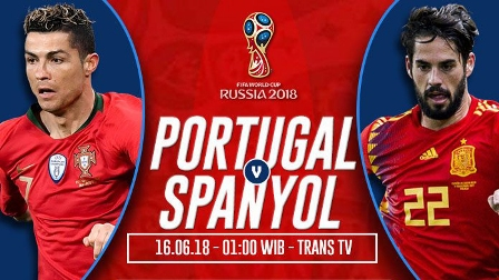 Nonton Portugal vs Spanyol - Live Streaming Trans TV