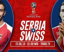 Nonton Serbia vs Swiss, Link Live Streaming Bola