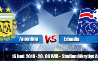Nonton Argentina vs Islandia, Live Streaming Trans TV Jam 20.00wib
