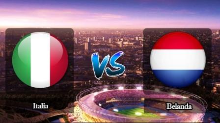 Prediksi Italia vs Belanda