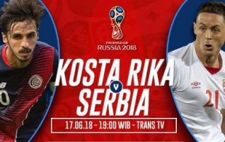 Nonton Kosta Rika vs Serbia, Link Live Streaming Trans TV