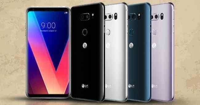 Desain dan Spesifikasi LG V40 ThinQ Hadir Dengan 5 Kamera