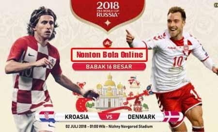 Nonton Kroasia vs Denmark, Trans TV Live Streaming 01.00 -KlikPlay