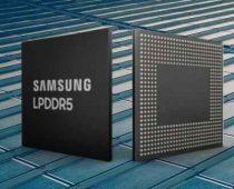 Smartphone 5G Dari Samsung, 8Gb LPDDR5 DRAM
