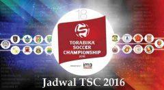 Jadwal TSC Live di TV Jam Tayang Pertandingan Pekan Ke 6 Tgl 10-13 Juni 2016