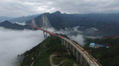 Resmi Digunakan, Jembatan Paling Tinggi di Dunia