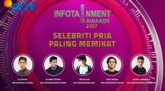 Infotainment Award 2017, nominasi Infotainment Award 2017, daftar nominasi Infotainment Award 2017