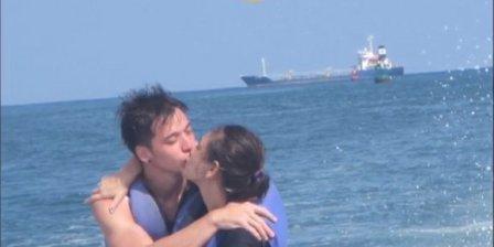 Steven William dan Celine Ciuman