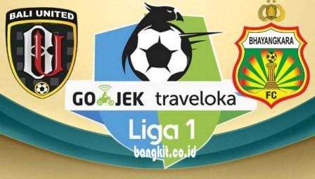 Prediksi Bali United vs Bhayangkara