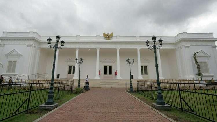 Replika Istana Kepresidenan RI