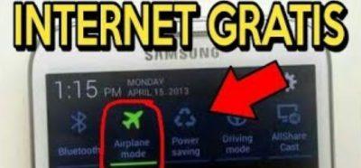 Ini Cara Internet Gratis Dengan Mode Pesawat Yang Wajib Anda Tahu