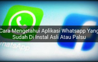 Cara Mengetahui Whatsapp Asli atau Bajakan