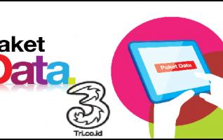 Harga Paket Internet Murah Tri / 3