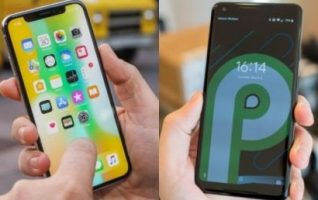 Review Android P vs iPhone X Hampir Serupa Tapi Tak Sama