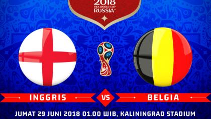 Acara Nonton Inggris vs Belgia, Streaming Trans TV KlikPlay
