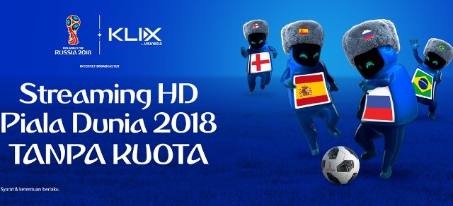 Asyik, Nonton Streaming Piala Dunia Tanpa Kuota, Pengguna XL Masuk
