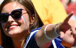 Foto Wags Timnas Argentina, Supporter Cantik Bikin Hati Meleleh
