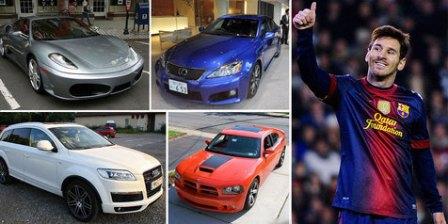 Koleksi Mobil Mewah Milik Lionel Messi Sang Bintang Barcelona