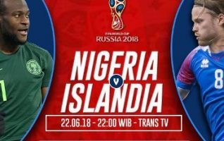 Prediksi Nigeria vs Islandia, Nonton Live Streaming Trans TV Disini