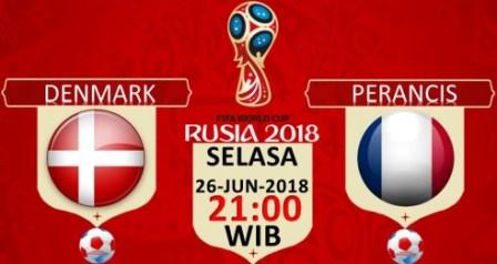Nonton Denmark vs Prancis, Gratis Live Streaming TV Disini