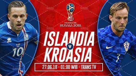 Nonton Islandia vs Kroasia, Trans7 Live Streaming TV Alternatif