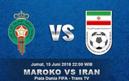 Nonton Maroko vs Iran Prediksi Skor dan Live Streaming TransTV