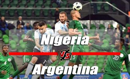 Nonton Nigeria vs Argentina | Live Streaming TV - Prantinjau Laga