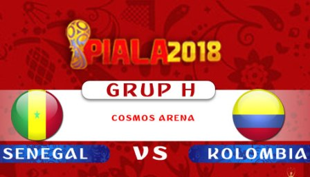 Nonton Senegal vs Kolombia, Link Live Streaming Trans TV