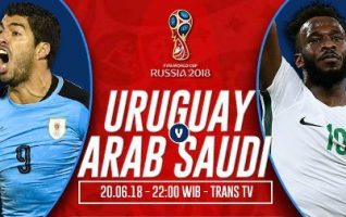 Nonton Uruguay vs Arab Saudi, Disini Link Live Streaming Trans TV