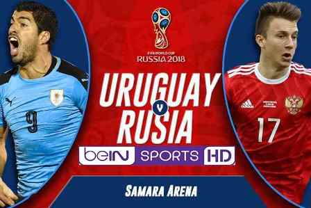 Nonton Uruguay vs Rusia - Halaman Live Streaming TV Ready