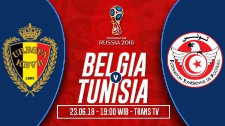 Prediksi Belgia vs Tunisia, Nonton Streaming TV