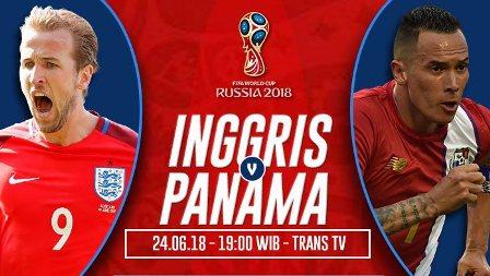 Prediksi Inggris vs Panama, Nonton Bareng Live Streaming TV